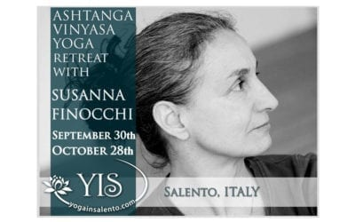 FULL INTENSIVE MONTH ASHTANGA YOGA PRACTICE WITH SUSANNA FINOCCHI