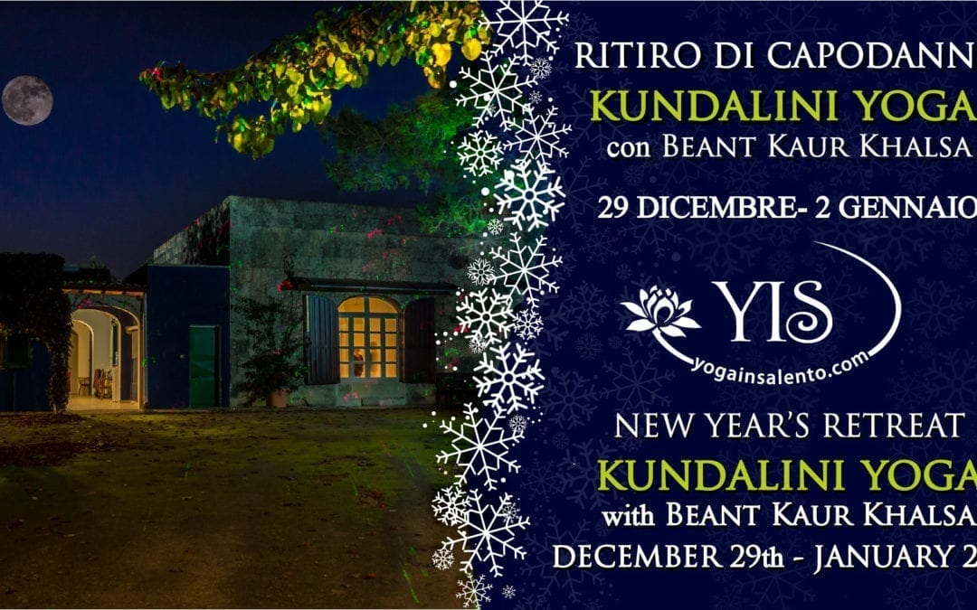 WHAT TO DO THE NEW YEAR'S EVE? A HOLIDAY WITH YOGA IN SALENTO!