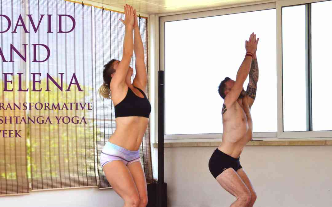 ASHTANGA YOGA RETEAT WITH DAVID ROBSON AND jelena vesic