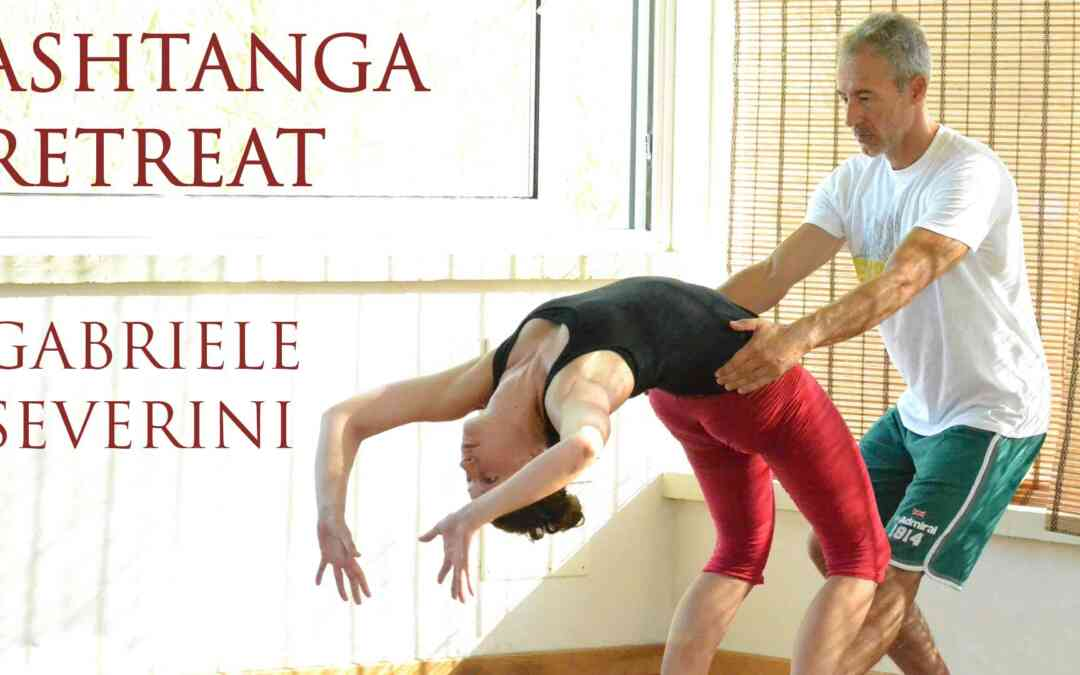 ASHTANGA YOGA RETREAT WITH GABRIELE SEVERINI