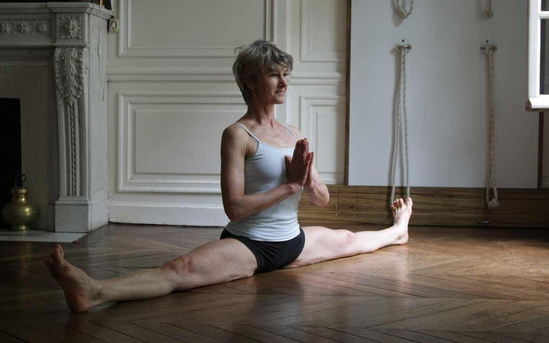 Iyengar yoga retreat with Anne-marie Van Holder